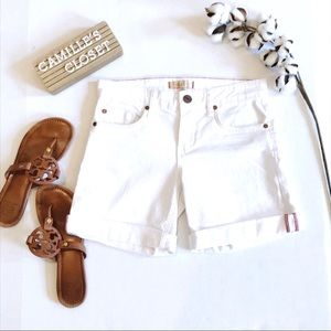 Sanctuary White Denim Shorts